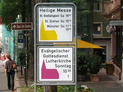 ACK Konstanz Gottesdienste