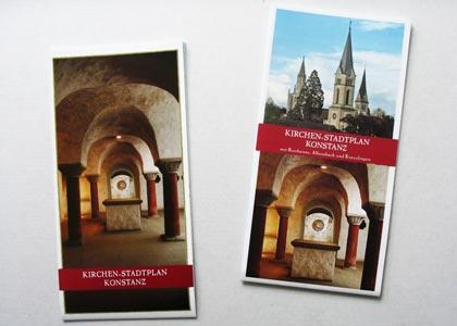 ACk Konstanz Kirchenstadtplan